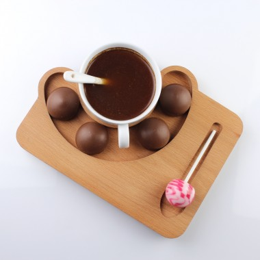 Wooden Coffee Tray 23x17cm