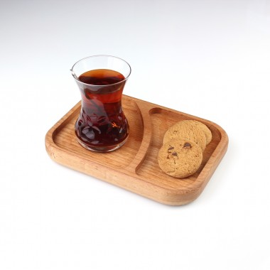 Wood Tea / Coffee Presentation 18x13cm