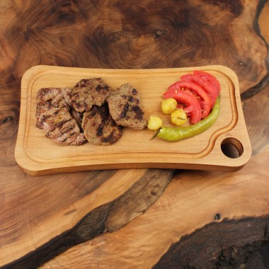 Wood Cutting Board 34x18cm Beech
