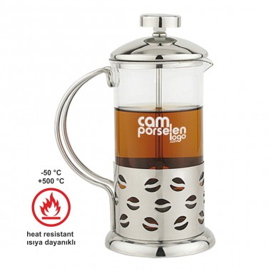 Logo Printed Logo Baskılı French Press