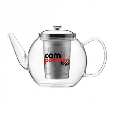 Glass Teapot with Filter 600 Ml