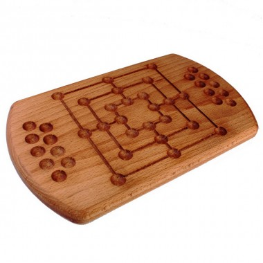 Wooden Game Nine Stone 31x19cm Beech