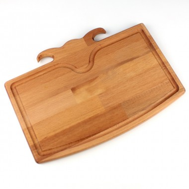 Wood Steak Board Aries Head 35x25cm Beech