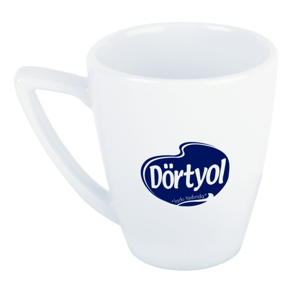 Logo Printed Soley Porcelain Mug